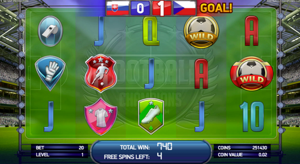 online casino site champions football