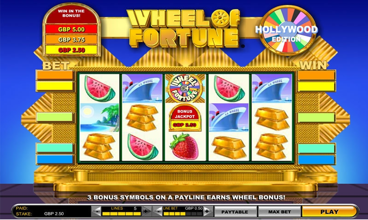 Slot machines online free play wheel of fortune