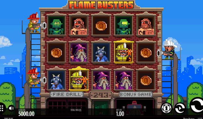 Spiele Roasty McFry And The Flame Busters - Video Slots Online