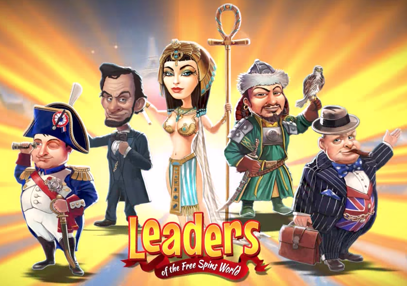 Leaders Of The Free Spins World