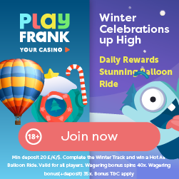 Hot Air Balloon Ride To Be Won At PlayFrank