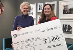 Microgaming Donate £30,000 To Four Charities
